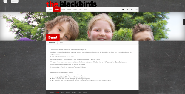 Inhaltsseite www.blackbirds.info